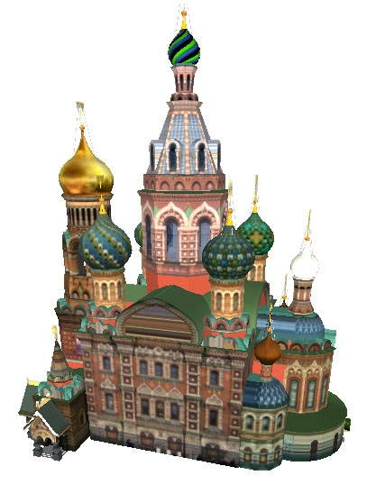 Three dimensional castle model