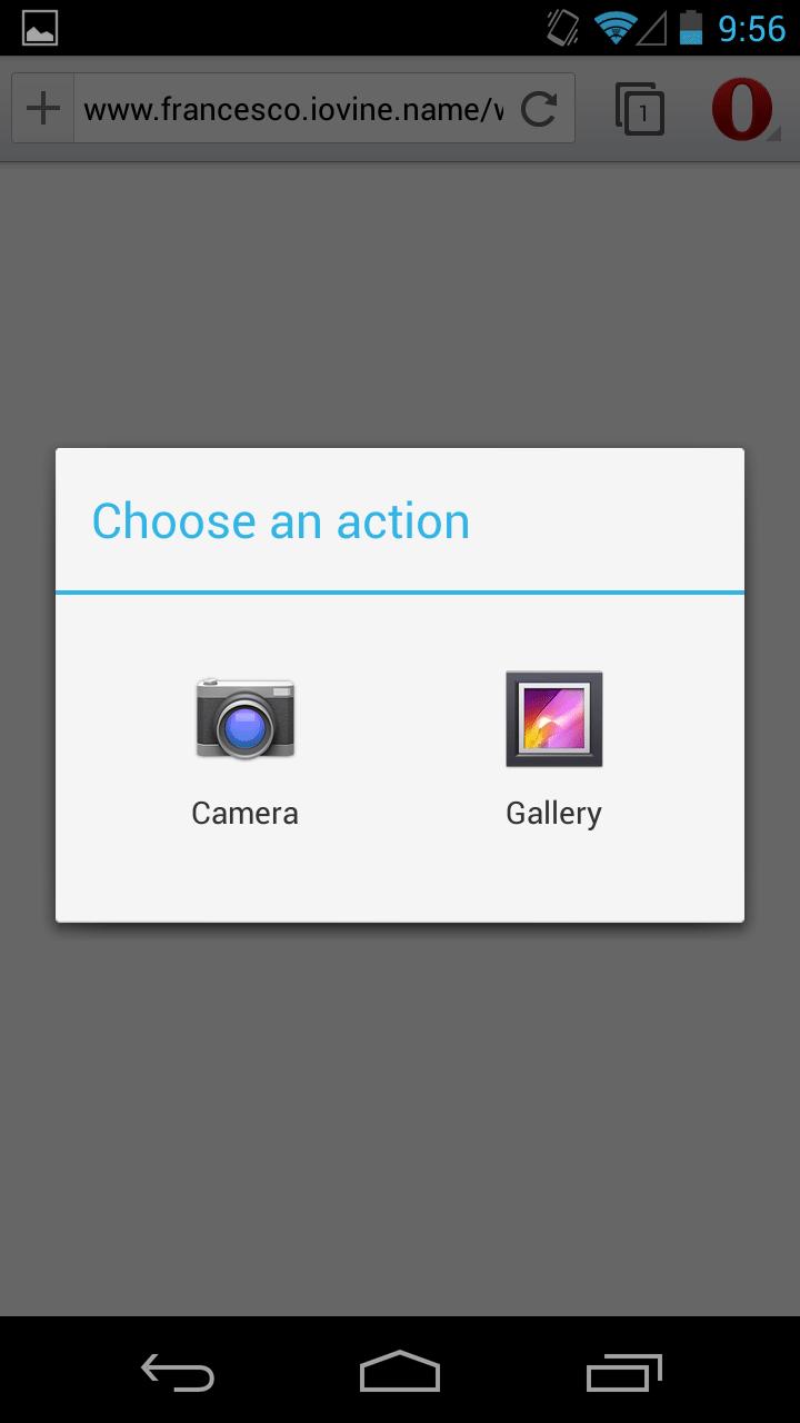 Dev Opera Media Capture In Mobile Browsers