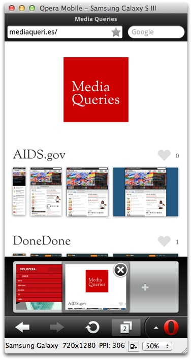 Windows 8 Opera Mobile Emulator full