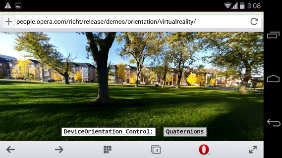 Virtual Reality Web Application — Screenshot 2