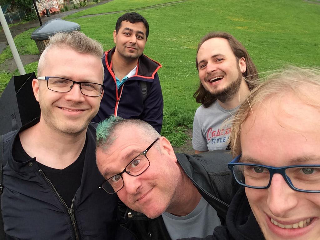 Opera DevRel team selfie