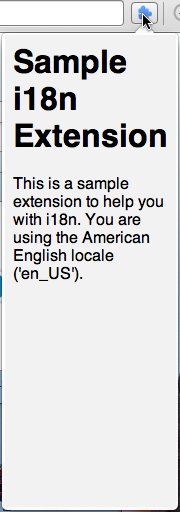 Popup in English