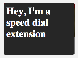 First Speed Dial extension